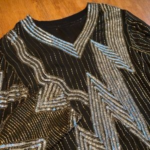 Tops - Sequin Top - Life of the Party